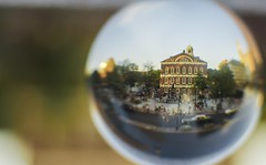 Faneuil hall - Crystal Ball (thephotobear) Tags: faneuilhall boston crystalball goldenhour