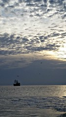 Pirates on the port bow (Dave* Seven One) Tags: standrewsstpark florida fl gulfofmexico beach sand ocean camping family fun views wildlife nature seadragon pirates pirate pirateship sunset horizon seagulls