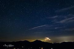 Stars and Strike As Peaks of Otter Looks On (Terry Aldhizer) Tags: stars strike thunderstorm heat lightning bolt peaks otter blue ridge mountains night storm terry aldhizer wwwterryaldhizercom