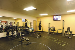 Thermo Fisher (OLSON LEWIS Architects) Tags: biotech gym commercial workoutarea ol thermofisher