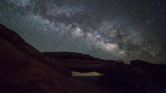 The Way ... Above Mesa (Ken Krach Photography) Tags: mesaarch canyonlandsnationalpark milkyway