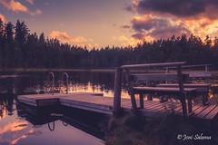 Kämmenlampi, Vihti (Joni Salama) Tags: vihti lampi kesä luonto auringonlasku kämmenlampi valo suomi vesi uusimaa finland fi pond summer nature light