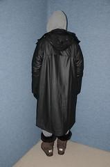 Rain Coat (Warm Clothes Fetish) Tags: niqab hijab chador burka girl anorak coat rainwear sweat boots torture slave warm