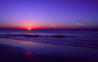 Sunrise on Tybee Island, GA