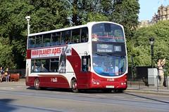 Lothian 821 SN56AHF (busmanscotland) Tags: lothian 821 sn56ahf sn56 ahf volvo b7tl wright eclipse gemini