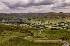 The Road to Edale. (pattzi) Tags: winding road edale