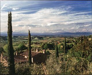 Close to Montepulciano, Italy.