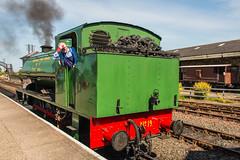 Bo'ness & Kinneil Railway - NCB (060ST) Engine No 9 Rear 2 (Le Monde1) Tags: boness kinneil lemonde1 nikon d800e museum heritage uk bonesskinneilrailway museumofscottishrailways ncb no9 engine locomotive scotland steam railway