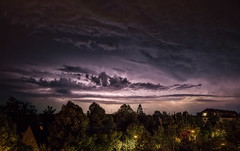 Thunder and Lightning (acahaya) Tags: livecomposite thunderstorm storm clouds lightning night weather bavaria