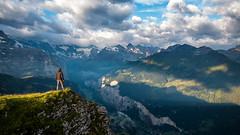 On Top (Nicolas Gujer) Tags: männlichen grindelwald lauterbrunnen eiger thunderstorm wengen