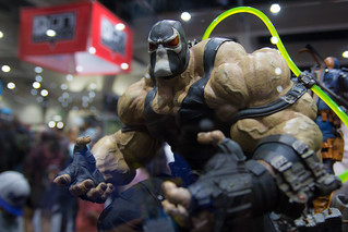 SDCC 2017 - Sideshow Collectible's Booth - Bane