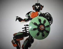 Talus (jayfa_mocs) Tags: bionicle bioniclemoc robot lego legomoc model display toy art herofactory