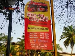 Hop On Hop Off (joegoauk73) Tags: joegoauk goa miramar