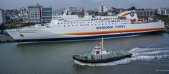 2017 - Korea - Incheon Port - 12 of (Ted's photos - For Me & You) Tags: 2017 cropped korea nikon nikond750 nikonfx seoul tedmcgrath tedsphotos vignetting weidongferry ferry newgoldenbridgev incheon incheonport ship boat port water dock pier tug tugboat