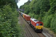 66206, Sutton Park (JH Stokes) Tags: 66206 class66 dbcargo diesellocomotives freightlocomotive freighttrains suttoncoldfield suttonpark birmingham trains trainspotting tracks railways photography