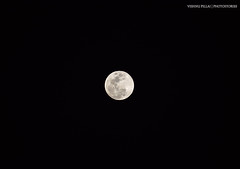 The one staring from a distance (vpphotostories) Tags: moon sky nikon night dark monochrome pattern aerial design love beauty crater science shine light color view stilllife photo dslr zoom