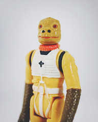 194 : 365 : VI (Randomographer) Tags: project365 bossk male trandoshan alien project 365 star wars action figure kenner vintage collectable toy 1980 bounty hunter portrait vi 194