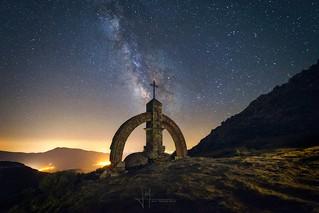 Vía Láctea desde el Puerto del Pico
