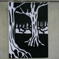 🌲 SKETCHBOOK spray on paper, 70x100cm #summerinbelgium #baleau #forest #foret #dark #sombre #marais #spray #art #painting #doodle #dessin #mtn #peinture #montana #94 (Pierre BOLIDE) Tags: instagramapp square squareformat iphoneography uploaded:by=instagram spray bombe peinture papier painting art dessin doodle giant montana 94 mtn