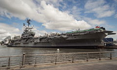 Intrepid Sea, Air & Space Museum (crybaby75) Tags: 2017 newyork nyc usa canon 1300d canoneos1300d 1785 efs1785 efs1785isusm panorama photowalk cityscape citytour intrepid museum intrepidseaairspacemuseum ship weekendshowcase