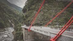 Cimu Bridge (ææ¯æ©), Taroko Gorge (Hualien, Taiwan) @2016 (balukootravel) Tags: 2016 selfdrive taiwan tarokogorge hualien tarokonationalpark marble canyon trail hike balukootravelblog balukootravel travelblog travelblogger iamtb travelguide traveltips travelitinerary itinerarysuggestions