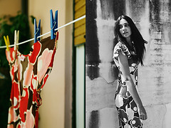 Umbria summertime (jeffelix69) Tags: woman portrait retrato italy fashion arcangelimages jeffelix69 walking dress style cinematic cinema summer summertime vestito bw blackwhite biancoenero photo photgraphy monocrome
