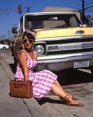 """Retro Row"" Long Beach, Ca (OutrageousOmar) Tags: pentax67 pentax6x7 pentax fujiprovia positivefilm film slidefilm provia fuji"