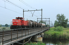 DB Cargo 6464 @ Zwolle (Sicco Dierdorp) Tags: db dbc cargo serie6400 ketelwagen keteltrein onnen kijfhoek zwolle herfte meppel
