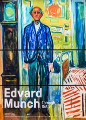 edvard munch sfmoma show (pbo31) Tags: sanfrancisco california nikon d810 color july 2017 summer boury pbo31 soma sfmoma show art artist modern painting blue edvardmunch