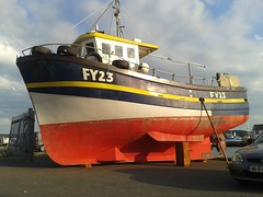 Little Pearl (Kinsella Media) Tags: fishing boat ship vessel marine maritime sea little pearl fy23 ireland arklow wicklow eire harbor harbour