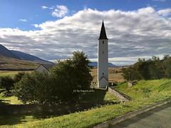 Hòlar. Torre de la Catedral. Islandia. (lameato feliz) Tags: hòlar islandia hòlarcatedral torre paisaje
