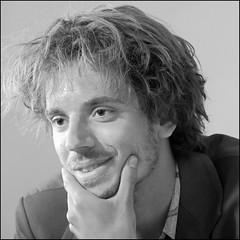 The Musician (Finding Chris) Tags: nationalportraitgallery npg studio portraiture portrait guitarist mono bw london uk musician chrisbarbaraarps canon60d