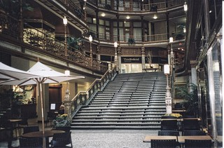 Cleveland Ohio ~ Hyatt Regency  at The Arcade Cleveland ~  Historic  Interior ~ Vintage Photo