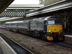 57603 Tintagel Castle (Phil Gayton) Tags: class57 57603 tintagelcastle exeter stdavids station rail railway