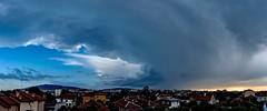 Clouds little, clouds big (nickneykov) Tags: nikond750 nikon d750 nikonafs20mmf18 20mm twilight clouds sky sofia bulgaria blue