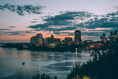 Gatineau (Bust it Away Photography) Tags: ottawa gatineau ottawariver nikon sunset summer quebec ontario canada river beautiful bustitawayphotography love