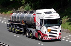 SCANIA R420 - REDWAY Widnes Cheshire (scotrailm 63A) Tags: lorries trucks tankers