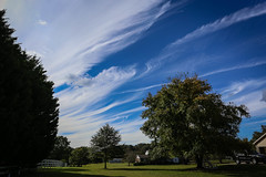 Cirrus Clouds - Anderson S.C. (DT's Photo Site - Anderson S.C.) Tags: canon 6d 1740mml lens upstate cirrus clouds andersonsc rural country roads blue clear skies south carolina landscape weather