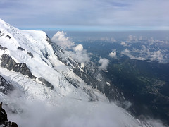Alps Trip 1140m (mary2678) Tags: aiguille du midi chamonix europe honeymoon mont blanc mountain mountains sky cloud clouds snow rick steves myway way alpine tour french alps