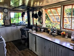 Cate's kitchen. Homestead. Middle Percy Island.