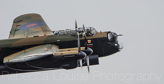 Lancaster on display at RIAT2017
