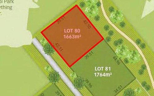 Lot 80, River Gums Drive, Moama NSW