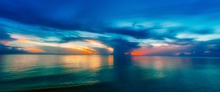Storm Cloud Sunset