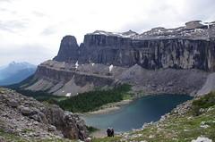 Rockbound Lake and Castle range (Andrew Pizzinato) Tags: rockboundlake mountain lake water hiking castlemountain banff banffnationalpark