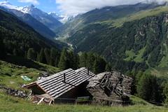Val d'Anniviers (bulbocode909) Tags: valais suisse mottec zinal valdanniviers chalets raccards mayens montagnes nature paysages forêts arbres nuages vert bleu