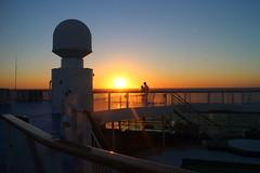 Sunset_Thomson Majesty_near Huelva_Spain_Sep16 (Ian Halsey) Tags: sunsetatsea sunset settingsun thomsonmajesty thomsonmajestysunset flickr:user=ianhalsey copyright:owner=ianhalsey imagesgooglecom greatsunsets location:spain=huelva