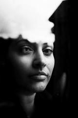 * (Nassia Kapa) Tags: self window clouds london reflection selfportrait portrait nassiakapa whennooneislooking bw grain fuji fujifilm poetic artistic iwilltellyouastory
