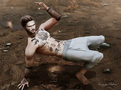 Off the Mud (Kaize Topaz) Tags: artwork kzposes photoshop photography manipulation