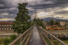 ... (Theophilos) Tags: bridge train station tree woman drama makedonia greece γέφυρα σταθμόσ τρένα δέντρο γυναίκα δράμα μακεδονία ελλάδα