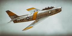 "north american f-86f sabre (Matt ""Linus"" Ottosen) Tags: northamerican f86 sabre planesoffame planes fame 2017 airshow cno kcno nikon d7000 f86f jolleyroger"